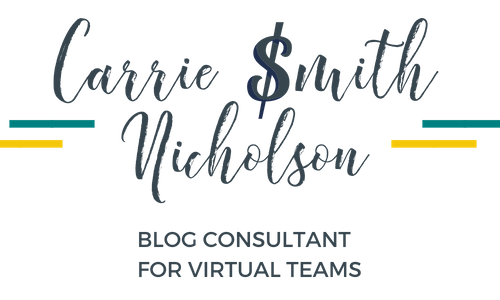 Blog Consultant & Project Manager for Virtual Teams